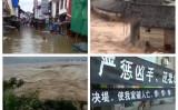 中国の珠江、湘江、長江流域では連日の豪雨により、約400本の河川で警戒水位を超えた。湘江では、堤防が決壊するなどの災害が起きている