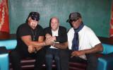 (L-R) Hulk Hogan, Darren Prince, and Dennis Rodman. (Courtesy of Darren Prince)