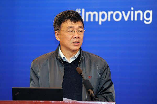 中国独立系シンクタンク、天則経済研究所の盛洪所長(大紀元資料室)