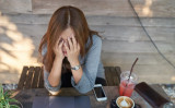 Is your thinking getting you down? You might blame life events or some personal mistake, but the suffering is somewhat self imposed if your thoughts are running amok. (Akaranan/Shutterstock)