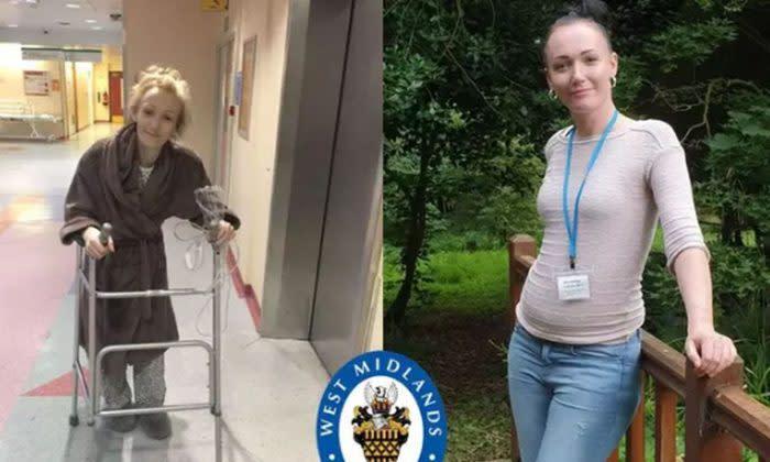 Caroline has now managed to turn her life around. (West Midlands Police)