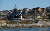 グリーンランド都市部の街並み(GettyImages)