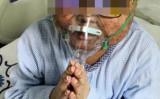 博仁病院で治療を受けた当時の裕喆くん。(遺族提供)