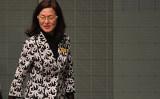 オーストラリアのグラディス・リュー(Gladys Liu)下院議員(Tracey Nearmy/Getty Images)