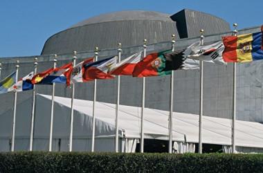 写真はニューヨークの国連ビル(GettyImages)