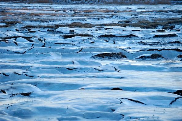 実際、二酸化炭素の変動や他のエネルギー収支の変化が大幅な気温の変化を引き起すことを示す証拠はない (Photo credit should read JOSEPH PREZIOSO/AFP/Getty Images)