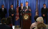 米司法省は9月30日の記者会見で、中国情報機関の外国代理人を不法に務めたとして、中国出身米国籍の男性1人を起訴したと発表(Photo by Justin Sullivan/Getty Images)