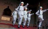 台湾台北市で中正紀念堂の衛兵交代の様子(GettyImages)