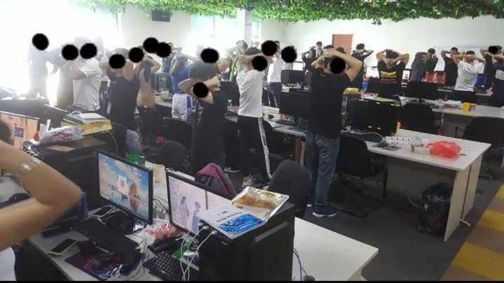 マレーシア移民局はネット詐欺の容疑で680人の中国犯罪グループを一斉逮捕した(Malaysia Immigration News Update)