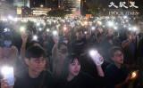香港人権民主法の成立に感謝を示す集会が開かれた(大紀元)