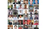 2015年7月、中国当局に拘束された人権弁護士(大紀元が合成)