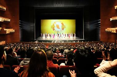 神韻2020年世界ツアー日本公演が2019年12月25日、名古屋で始まった(大紀元)