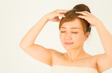 塩洗髪の効果(PhotoAC)