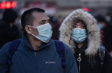 写真は2020年1月21日の北京市(Kevin Frayer/Getty Images)