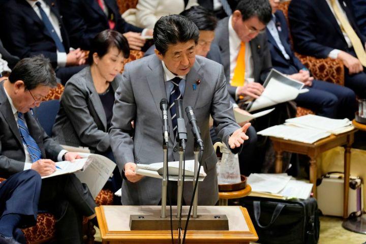 安倍首相は30日、新型コロナウイルスの感染例が増加していることを受けて、台湾のWHO加盟を支持した(GettyImages)