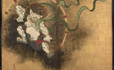 雷神図(尾形光琳/パブリック・ドメイン)