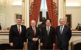 訪米中の台湾次期副総統・頼清徳氏は2月4日、米上院議員と会談した(@SenCoryGardner)