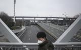 都市封鎖措置を導入した湖北省武漢市の様子(Getty Images)