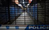 閉鎖された武漢市の華南海鮮市場(AFP/Getty Images)