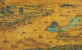 江漢攬勝図軸(武漢市博物館所蔵/パブリック・ドメイン)