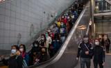 香港市内のマンションで住民2人の新型肺炎への感染が発生した。写真は香港市内の様子。2020年2月9日撮影(DALE DE LA REY/AFP via Getty Images)