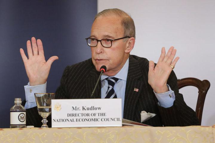 米トランプ政権の国家経済委員会ラリー・クドロー(Larry Kudlow)委員長(GettyImages)
