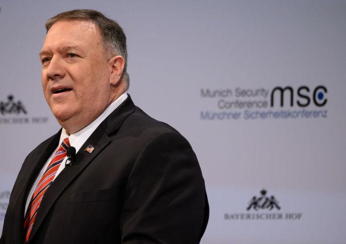 米ポンペオ長官、「西側の価値は勝利する」独安全保障会議(GettyImages)