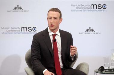 2月15日、フェイスブックのCEOマーク・ザッカーバーグ氏は、ミュンヘン安全保障会議に出席した(GettyImages)