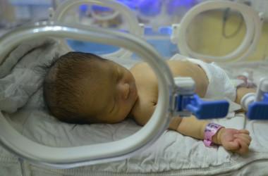 タイのバンコク捜査当局は、中国向け代理出産ビジネスを摘発した。犯罪グループは、少なくとも50人の赤ちゃんを代理出産させ、金銭取引していたという。写真は2019年安徽省で生まれた赤ちゃん。参考写真(GettyImages)
