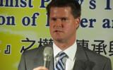 元国防総省安全保障次官、台北コミュニケを提案したランド―ル・シュライバー氏、参考写真(台湾総統府)