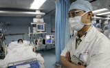 SARSの時に大活躍した呼吸器専門医の鍾南山氏( GOH CHAI HIN/AFP via Getty Images)