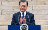 元中共サイバー軍メンバーはこのほど、大紀元の取材に応じ、韓国大統領選挙に介入して共産主義者の文在寅氏を支援したと明かした。写真は3月1日、独立記念日の式典で演説する文在寅大統領(GettyImages)