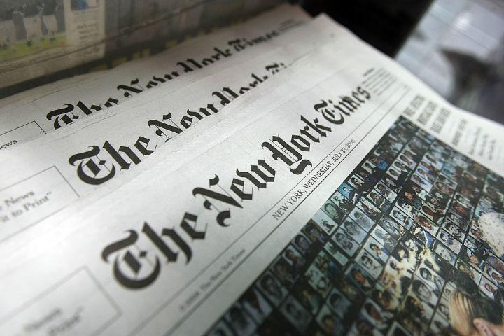 ニューヨーク・タイムズとウォール・ストリート・ジャーナル、ワシントン・ポストの米大手3紙の記者のビザが失効する(GettyImage)