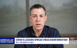 新型肺炎の世界的な流行に繋がったとして、中国側の失策を問責する決議案を作成、提出したジム・バンクス議員(Epoch TImes)