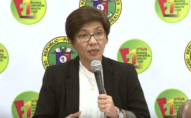 フィリピン保健相は28日の記者会見で、中共ウイルス(新型コロナウイルス)の検査で使用する検査キットについて述べた(フィリピン国営放送スクリーンショット)