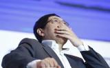 中国の有名企業家で歯に衣着せぬ物言いで人気が高い任志強氏(Press via Getty Images)