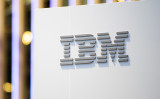 米IBM社のロゴ (David Ramos/Getty Images)