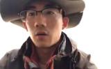 「習近平退陣」「共産党退陣」とSNSで訴えた山東省の大学生 行方不明に(スクリーンショット)
