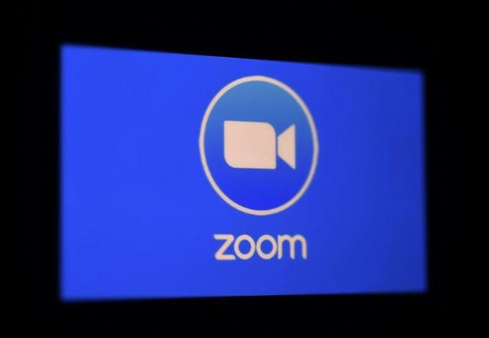 感染流行で増えるオンライン会議や教室に、FBIが乗っ取りを警告している。写真は、FBIの報告に名前が挙がった、ビデオ会議アプリ大手ズーム(Zoom)のスクリーンショット(Getty Images)