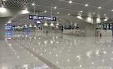 2020年3月31日、北京市主要交通拠点、清河枢紐ターミナルロビーでは利用客の姿がなかった(大紀元)