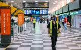 医療資源の窃盗・転売目的で、ブラジル上海商工会代表を名乗る男を逮捕した。写真はサンパウロのグアルーリョス国際空港(GettyImage)