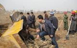 山西省の地方では土地収用があり、村民の女性が建設業者が依頼したとみられるならず者に暴行される(提供写真)