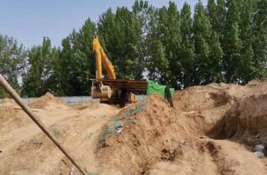 湖南省の工事現場に侵入した4人の子どもは、土砂に埋まり窒息死した(ネット写真)