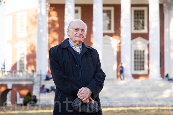 長年、中国臓器狩り問題を調査してきた人権弁護士のデービット・マタス氏。2019年10月、米バージニア州で撮影(林楽予/大紀元)