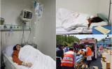 中国人権派弁護士の王全璋氏の妻、李文足さんは4月26日午前、急性虫垂炎で北京市の病院に搬送された(ツイッターより)