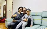 4月27日、中国の王全璋弁護士は山東省済南市警察の監視下で北京市の自宅に戻った(李文足さんのツイッターより)