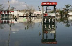 ハリケーン「カトリーナ」被災後のニューオリンズ(Getty Images)