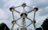 ベルギー・ブリュッセルのシンボル、アトミウム(o palsson /Wikimedia commons)