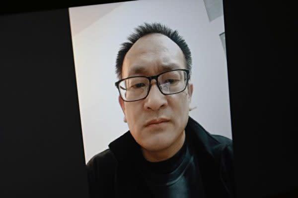 2020年4月23日に撮影された中国の人権派弁護士、王全璋氏の写真(LEO RAMIREZ/AFP via Getty Images)