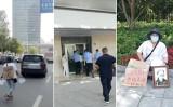 武漢市民の楊敏さんは5月11日、市当局による中共ウイルスの情報隠ぺいをめぐる真相究明と責任追及を求めた(情報提供者より)
